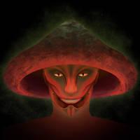 Zodiseus the Bell-Shroom Sylvari by dfpdigital