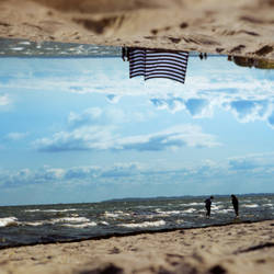 At the Beach by SleepingInAFlower
