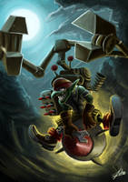 Fanart DotA :: Tinker by flukekung