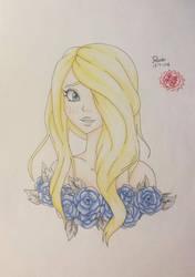 Flower girl by Dea-scarlet