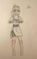 random oc character by Dea-scarlet