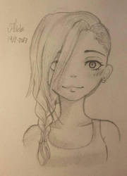sketch  by Dea-scarlet