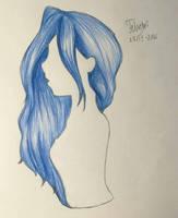 Busty Blue by Dea-scarlet