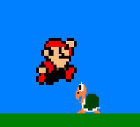 Mario 8-Bit by Xaviator