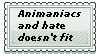 Animaniacs and Hate does not fit Stamp by tetsuwanatom