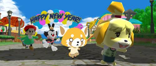 Happy new year! by tetsuwanatom