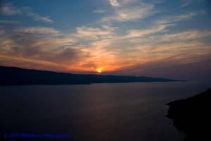 GREEK SUNSET by makithaca