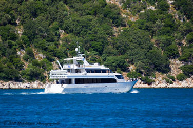 YATCH IN ITHACA by makithaca