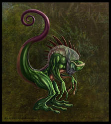 Mr. Lizard by smashy-bone