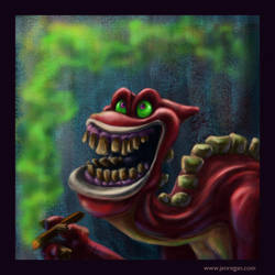 Smiley Smoker by smashy-bone