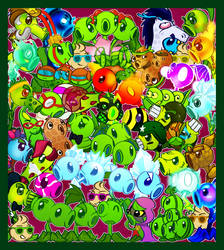 Peas and Friends by BatmanPortal14