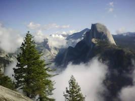 Amazing Half Dome by Yosemite-Stories