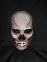 skull painted mask by bungot