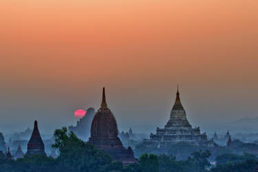 Good Morning Bagan by PyeAyeNyein