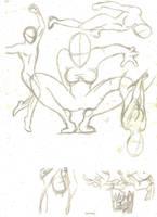 poses study-3 by mariposhy