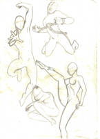 poses study-5 by mariposhy