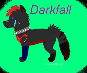 Darkfall by Lone-emo-wolf