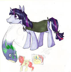 MLP by SketchytheScribbler