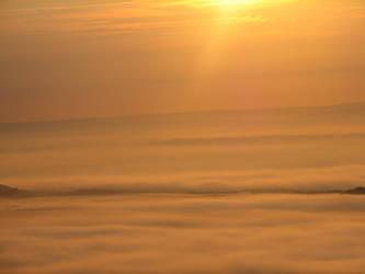 sunrise clouds by tawnie8376