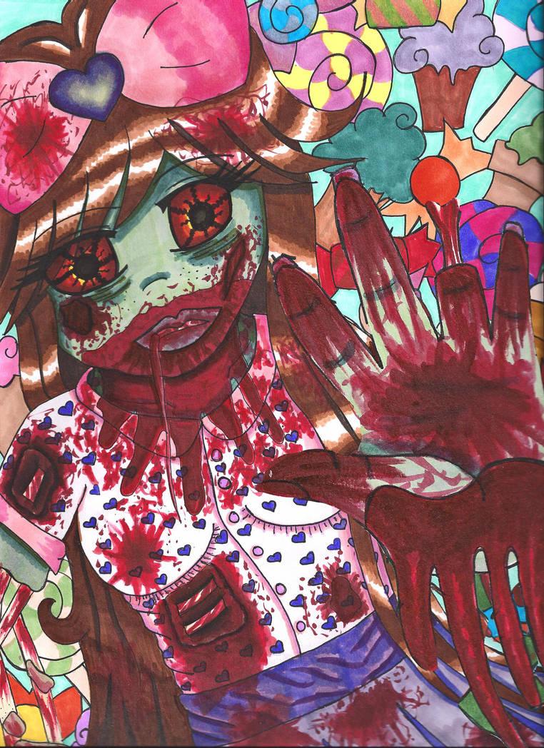 Pretty Zombie by tawnie8376