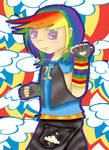 Rainbow Dash by tawnie8376