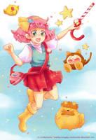 Minky Momo by kimgabydesu