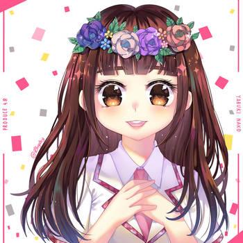 HKT48 Yabuki Nako on Produce 48 by kimgabydesu