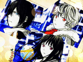Noragami , Anime by serlyharuno