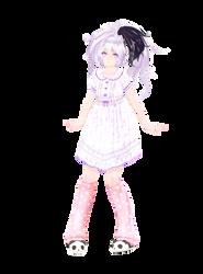 . : M o d e l  D L : . Tda V Flower Nightgown by AkuseruCat
