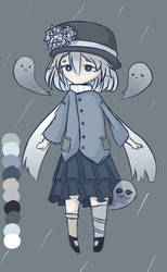 [CLOSED] Ghost Girl Adopt by qhost-ly