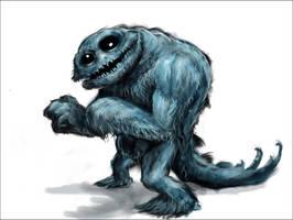 cookie monster by skullbeast