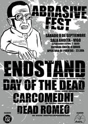 Poster Abrasive Fest_by Kalosu by FuckComics
