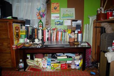 literally, my desktop. by ScarletKoi