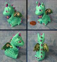 Flower Dragon by kaikaku