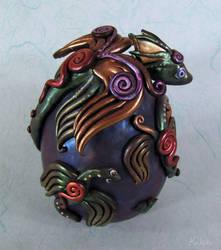 Egg of the Emerald Dragons by kaikaku