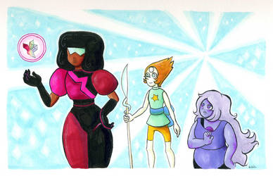 Crystal Gems by kaikaku