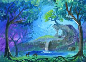 Hidden Falls study by kaikaku