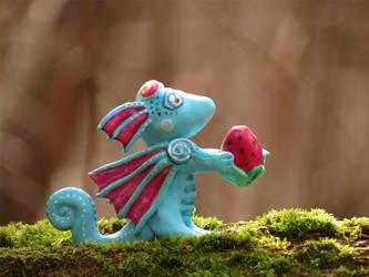 Strawberry Dragon by kaikaku