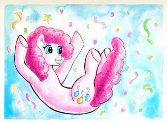 Pinkie Falls by kaikaku