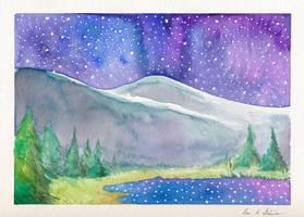 Reflected Stars by kaikaku