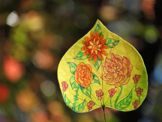 Flower Leaf by kaikaku