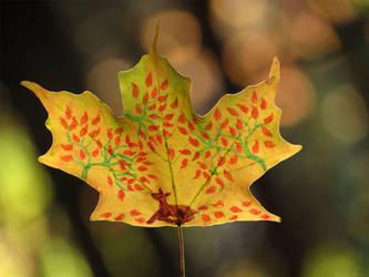 Dear Leaf closeup by kaikaku