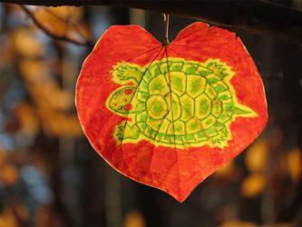 Tree Turtle by kaikaku