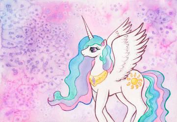 Princess Celestia by kaikaku