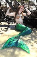 Resting Mermaid by AlexieStar