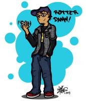 Rotter Damn! by inzanita