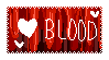 Hearts Blood Lace Stamp by Leafjelly