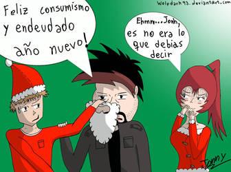 Felices fiestas by wolfdark93