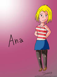 Ana (new posible comic OC) by wolfdark93