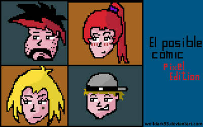 Posible Comic - Pixel edition by wolfdark93
